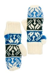 Melrose And Market Fair Isle Knit Mittens
