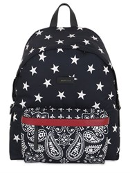 Moncler Romeo Star And Paisley Printed Backpack