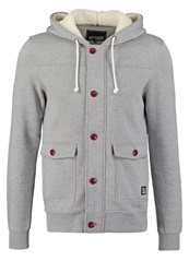 Your Turn Teddy Tracksuit Top Grey Mottled Grey
