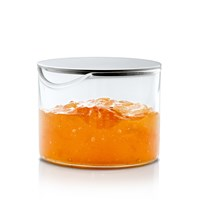 Blomus Basic Condiment Glass With Stainless Steel Lid
