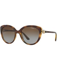 Vogue Eyewear Sunglasses Vo5060s Tortoise Brown Gradient Polar