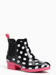 Kate Spade Trudy Boots Black White