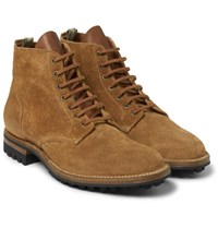 Officine Creative Victoria Suede Boots Tan