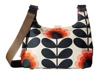 Orla Kiely Summer Flower Stem Mini Sling Bag Sunset Handbags Multi