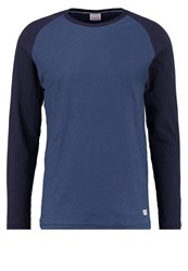 Jack And Jones Jornew Regular Fit Long Sleeved Top Dark Denim Dark Blue Denim