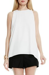 Vince Camuto Women's High Low A Line Blouse New Ivory