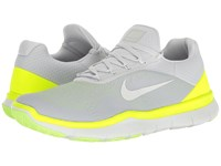 Nike Free Trainer V7 Pure Platinum Volt Ghost Green Off White Men's Cross Training Shoes Gray