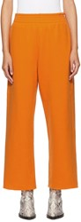 Maison Martin Margiela Mm6 Orange Heavy Culotte Lounge Pants