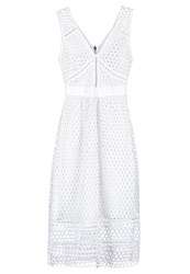 Abercrombie And Fitch Cheerio Summer Dress White