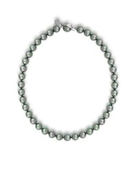 Majorica 10Mm Pearl Necklace Grey