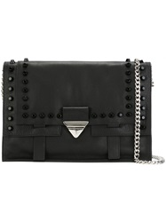 Orciani Studded Clutch Black