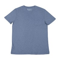 Hartford Pocket Crew T Shirt In Steel