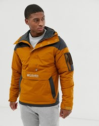 Columbia Challenger Pullover Jacket In Brown