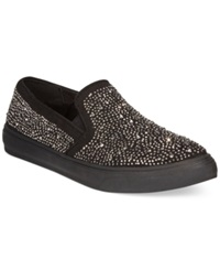 Zigi Bebe Sport Sharlene Studded Slip On Sneakers Women's Shoes Black