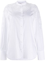 Ermanno Scervino Lace Panelled Shirt 60