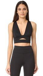 Free People Movement City Slicker Sports Bra Black