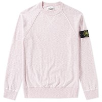 Stone Island Rasto Cotton Crew Sweat Pink
