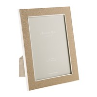 Addison Ross Sand Faux Shagreen Photo Frame 5X7