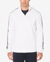 Perry Ellis Men's Cotton Sweater Bright White
