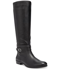 Styleandco. Style Co. Fridaa Wide Calf Boots Only At Macy's Women's Shoes Black