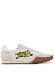 Kenzo Tiger Low Top Trainers Grey