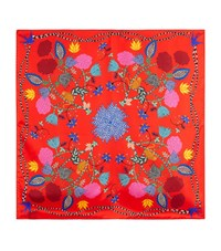 Sandro Kunming Silk Scarf Female Red