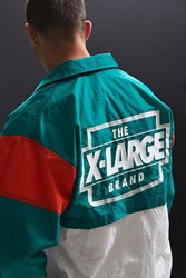 Xlarge X Large Colorblocked Team Jacket Green
