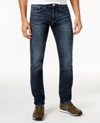 Armani Exchange Five Pocket Jeans Solid Blue