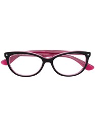 Tommy Hilfiger Cat Eye Frame Glasses Pink And Purple
