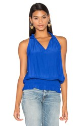 Ramy Brook Eliza Tank Blue