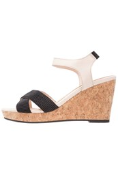Shoe The Bear Alec Platform Sandals Nude Rose