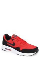 Nike Men's Air Max 1 Ultra 2.0 Essential Sneaker University Red Black White