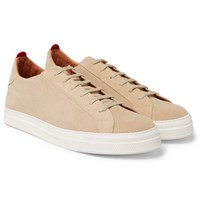 Oliver Spencer Ambleside Suede Sneakers Sand