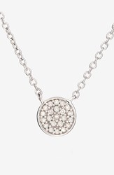 Women's Adina Reyter Pave Diamond Disc Pendant Necklace Online Only