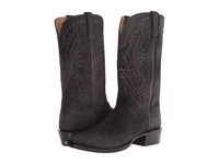 Lucchese Hl1501.73 Black Burnished Cowboy Boots
