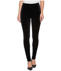 Calvin Klein Stretch Velvet Leggings Black Women's Casual Pants