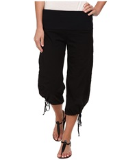 Xcvi Indria Wide Leg Crop Black Women's Casual Pants
