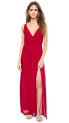 Blue Life High Tide Maxi Dress V Day Red