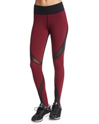 Michi Quasar Mesh Inset Sport Stirrup Leggings Shiraz