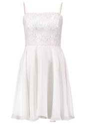 Swing Cocktail Dress Party Dress Ivory Silver White