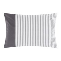 Tommy Hilfiger Cotton Percale Classic Reinvented Pillowcase Dark 50X75cm