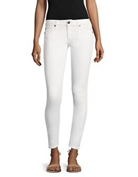 True Religion Casey Low Rise Super Skinny Jeans White