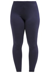 Dorothy Perkins Curve Leggings Navy Blue Dark Blue