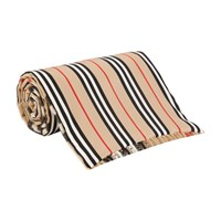 Burberry Giant Check Icon Cashmere Scarf Archive Beige