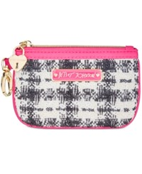 Betsey Johnson Sequin Zip Coin Purse Multi