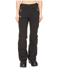 Salomon Iceglory Pant Black Women's Casual Pants