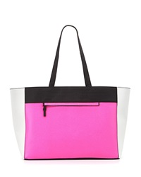 French Connection Perforation Celebration Tote Bag Pink