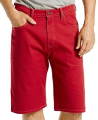 Levi's Men's 569 Loose Fit Shorts Rio Red