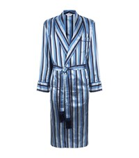 Derek Rose Verona Silk Robe Male