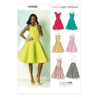 Vogue Women's Dresses Sewing Pattern 8998